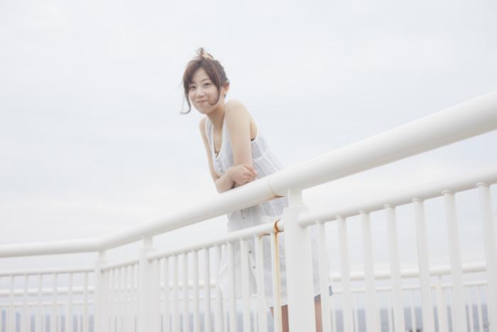 japanese girl sky