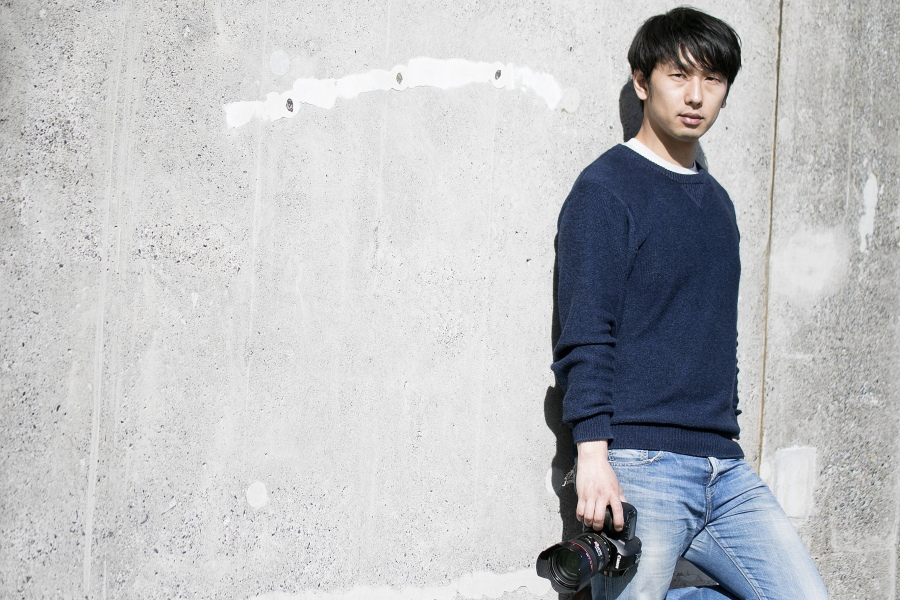 ポートレート カメラ男子